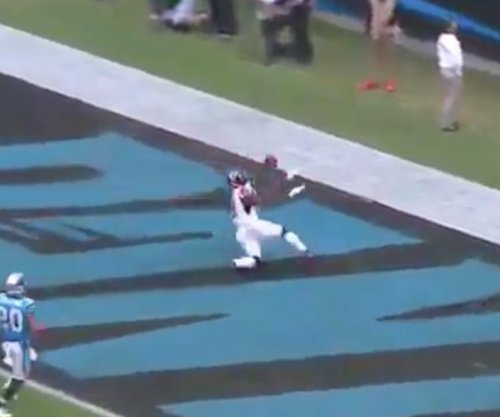 Julio Jones: Atlanta Falcons wide receiver drops touchdown