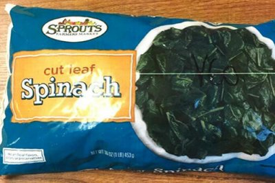 Sprouts recalls frozen spinach over listeria fears