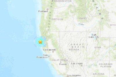Magnitude 5.6 earthquake shakes Northern California