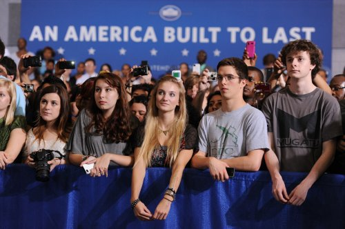 For young U.S. voters, it's still the economy