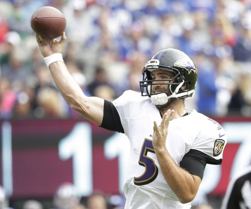Injury update: Baltimore Ravens QB Joe Flacco misses practice with shoulder injury