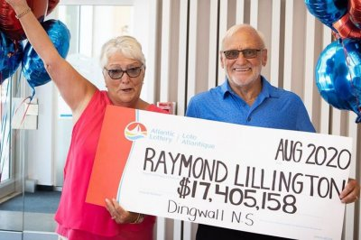 Canadian couple collect their second multi-million lottery win