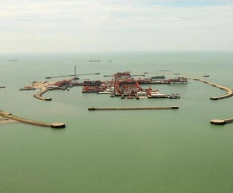 Commercial production started at giant Kashagan oil field