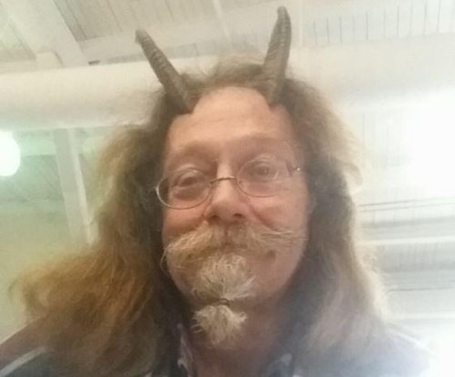 Maine man allowed to take ID photo wearing religious horns on his head