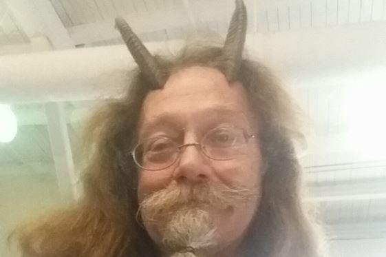 Look Man Wears Horns In Id Photo Due To Paganism