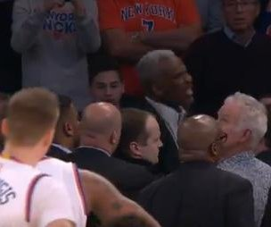 Charles Oakley: Fans dispute PR claims in New York Knicks owner's ejection of star player