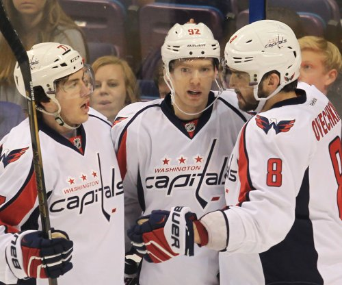 Washington Capitals clinch top seed, earn Presidents' Trophy with win over New York Rangers