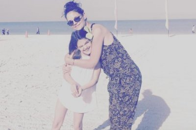Katie Holmes hugs daughter Suri in new photo: 'My sweetie'
