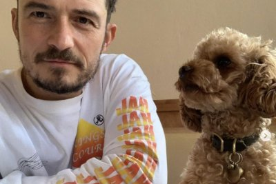 Orlando Bloom gets tattoo tribute after dog Mighty's death