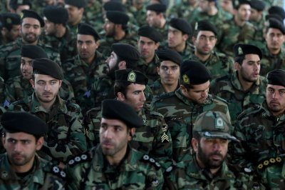 U.S. sanctions target Iran Guard Corps