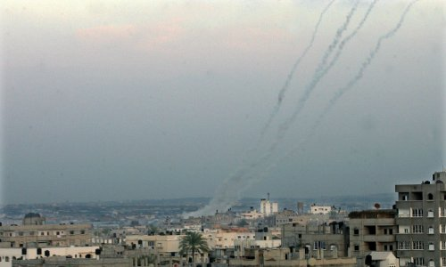 Israel's Iron Dome intercepts two missiles