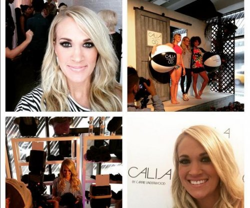 Carrie Underwood's activewear line makes NYFW debut