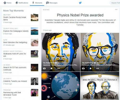 Twitter Moments launches in attempt to simplify content, attract users