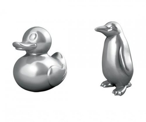 T-Rex, rubber ducky, penguin replace classic Monopoly pieces