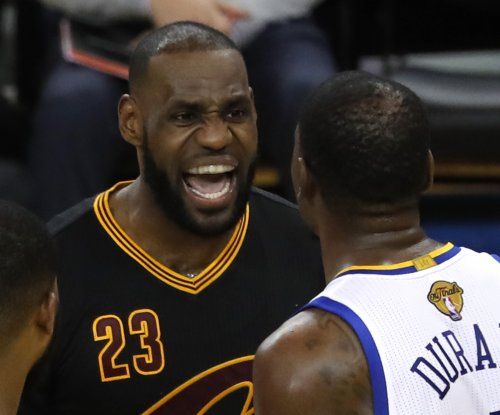 NBA says officials missed foul calls on Kevin Durant, LeBron James