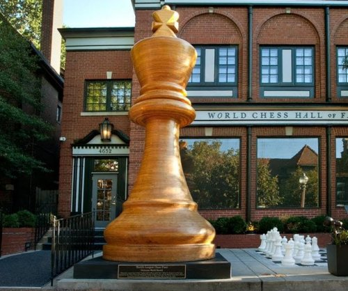 World's largest chess piece constructed in St. Louis