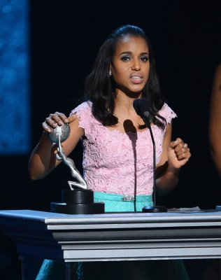 Kerry Washington tops at Image Awards