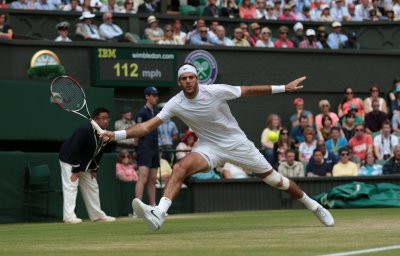 Wimbledon success suggests del Potro is back
