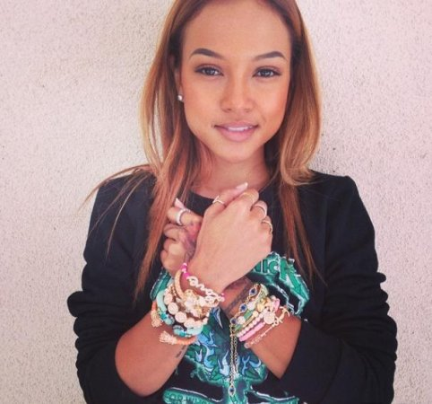 Karrueche Tran tearfully addresses her 'battle' with Rihanna over Chris Brown