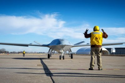 Boeing's MQ-25 refueling drone moved to air base for flight testing