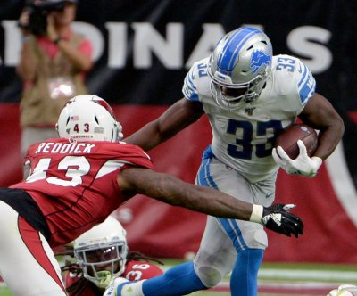Detroit Lions place RB Kerryon Johnson on injured reserve