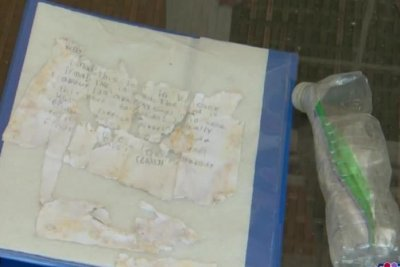 Florida family finds message in a bottle from Cuba