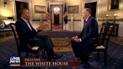 Watch Bill O'Reilly's tense pre-Super Bowl interview with Barack Obama
