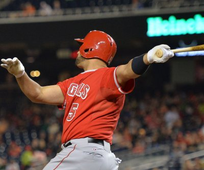 Albert Pujols powers Los Angeles Angels over Oakland Athletics