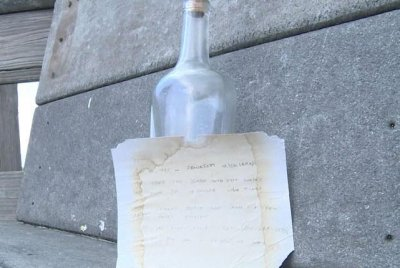 Message in a bottle travels from Michigan to Florida in 24 years