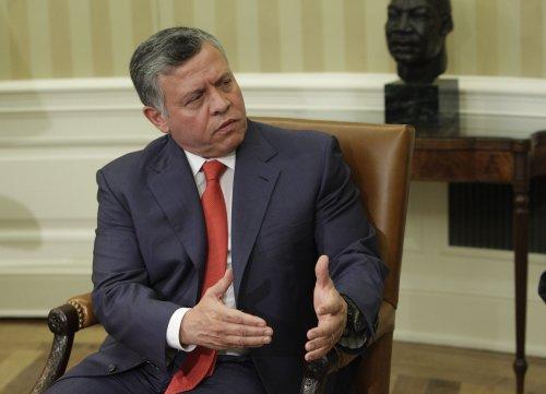 Jordan's King warns of regional turmoil