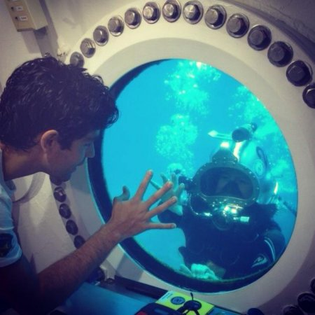 Fabien Cousteau intent on breaking grandfather Jacques Cousteau's underwater record