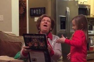 Granny's viral reaction to firefighters' beefcake calendar drives sales