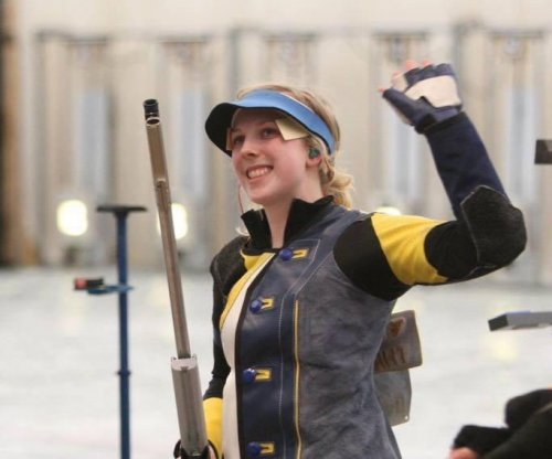 College student wins first U.S. gold in Rio in women's 10-meter air rifle