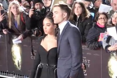 Robert Pattinson and FKA twigs return to the red carpet
