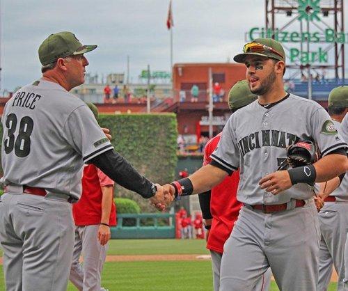 Adam Duvall, Patrick Kivlehan hit 2 solo HRs, power Cincinnati Reds over Philadelphia Phillies