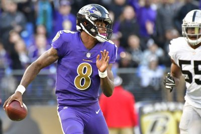 Baltimore Ravens coach John Harbaugh says Lamar Jackson will be ready