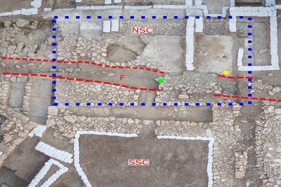 Earthquake may have destroyed Canaanite palace 3,700 years ago