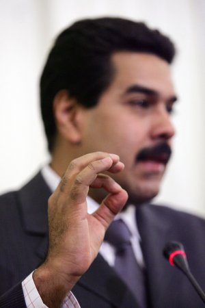 Venezuelan President Maduro says his plane blocked from U.S. airspace