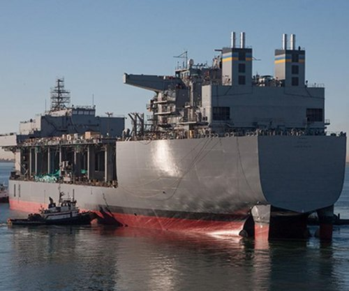 Navy receives third MLP ship from GenDyn NASSCO