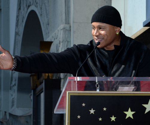 Rapper and actor LL Cool J gets his star on Hollywood's Walk of Fame