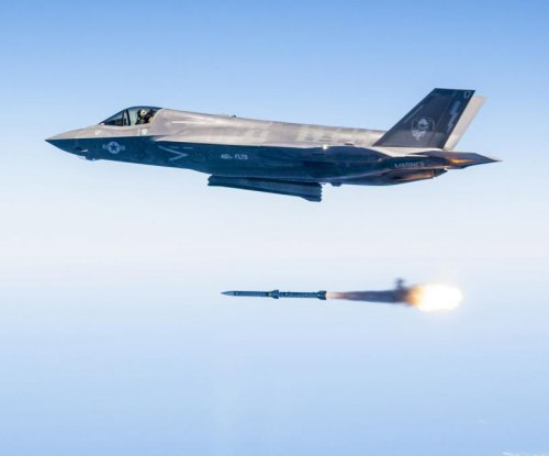 U.S. Air Force conducts F-35 weapons tests