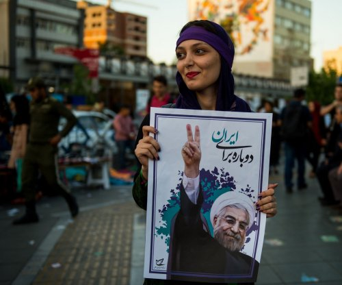 Iran's Rouhani has slim lead as presidential election approaches