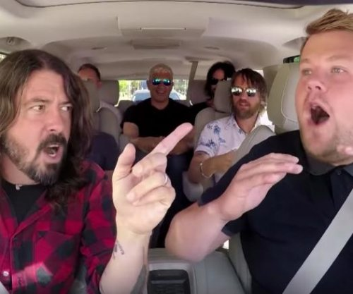 Foo Fighters join James Corden for Carpool Karaoke