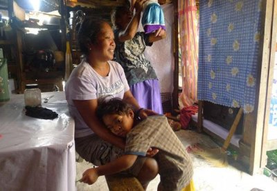Mayhem rules for Filipina mom in shanty baby boom