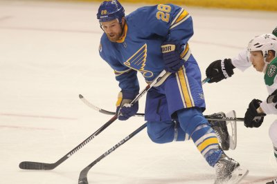 St. Louis Blues activate Kyle Brodziak from injured reserve