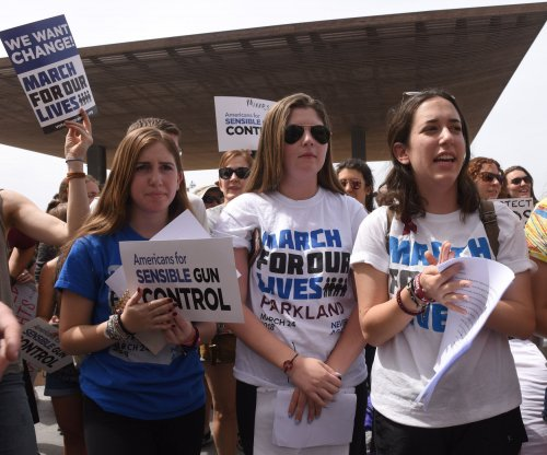 Parkland, Fla., survivors join gun control rally in Israel