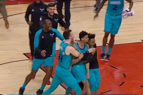 Charlotte Hornets' Jeremy Lamb keeps playoff hopes alive with buzzer-beater