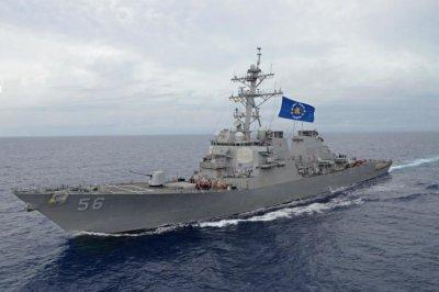 USS John S. McCain makes return to sea following 2017 collision