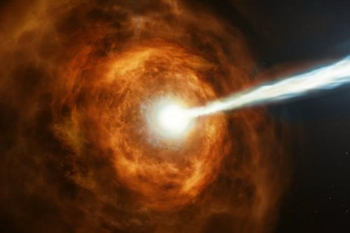 Hubble catches gamma-ray burst with highest energy yet-recorded