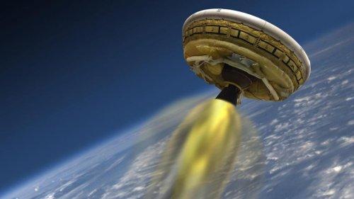 NASA postpones flying saucer test